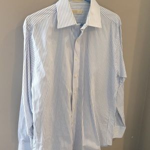NWOT, Men's, Michael Kors, Striped, Button-Down